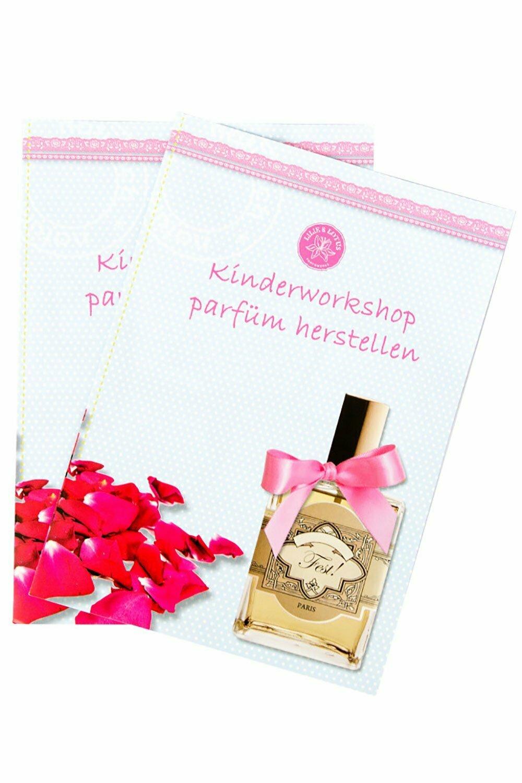 Parfüm machen Kinderparty