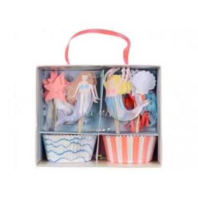 cupcake-dekoset-meerjungfrau-kinderparty