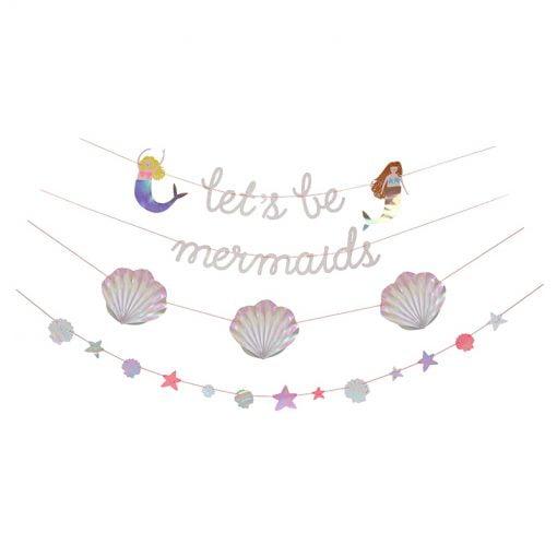 meerjungfrau-party-girlande