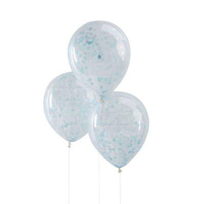 Konfetti ballons meerjungfrau