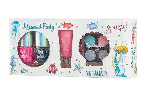 Make up set meerjungfrau party kinder