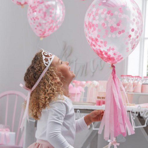 Ballons Rosa Ballerina Party Prinzessin Einhorn