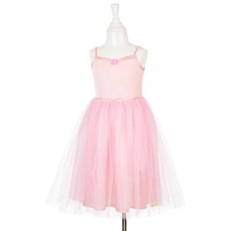 Partykleid kostümkleid rosa ballerina prinzessin