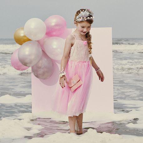 Partykleid kostumkleid madchen rosa