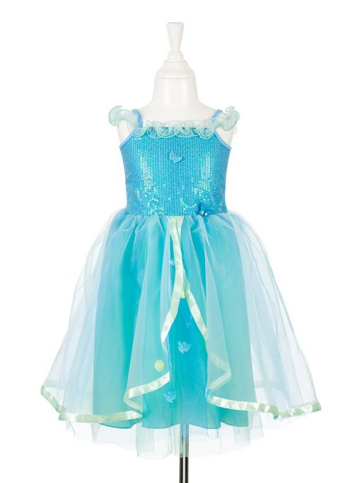 Partykleid meerjungfrau madchenparty geburtstag