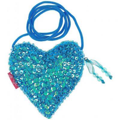 Tasche meerjungfrau meerprinzessin blau madchen