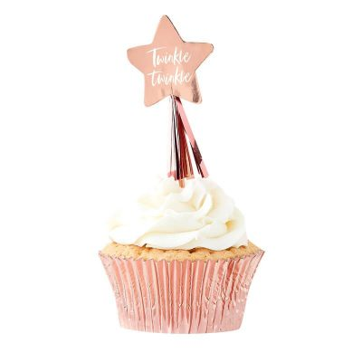 Fairy cupcake topper feen elfen party geburtstag