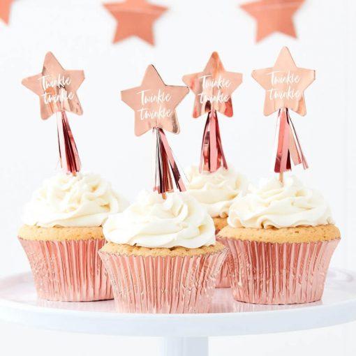 Fairy Cupcake Topper Feen Elfen Party Kindergeburtstag